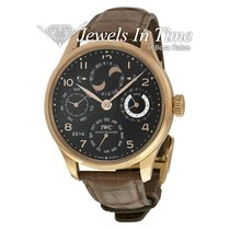 IWC Portuguese Perpetual Calendar Rose gold 44.2mm Black United States of America, Florida, 33431