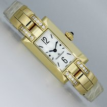Jaeger-LeCoultre Ideale Yellow gold 17mm Mother of pearl Arabic numerals