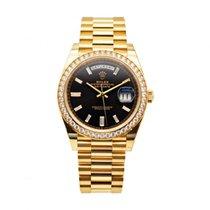 Rolex Day-Date 40 neu 2019 Automatik Uhr mit Original-Box und Original-Papieren 228348RBR