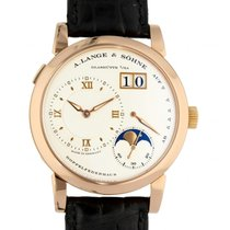 A. Lange & Söhne Lange 1 Or rose 38mm Blanc Romain
