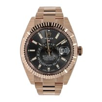 Rolex Sky-Dweller Rose gold 42mm Grey No numerals United States of America, New York, New York