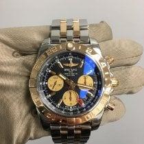 Breitling Chronomat 44 GMT Gold/Steel 44mm Black No numerals