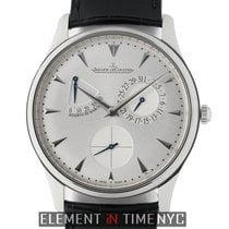 Jaeger-LeCoultre Master Ultra Thin Réserve de Marche Steel 39mm Silver United States of America, New York, New York