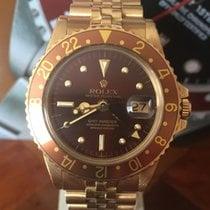 Rolex GMT-Master Yellow gold Brown