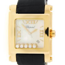 Chopard Happy Sport Square XL 18K Yellow Gold