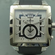 Edox Classe Royale Steel 40mm White