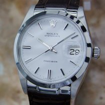 Rolex Oysterdate Precision 6694 Swiss Made Manual Vintage...