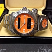 Breitling Emergency E76321 With Co-Pilot E70175 - Box & Papers...