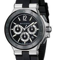Bulgari Diagono Chronograph Steel and Ceramic 42mm Mens Watch