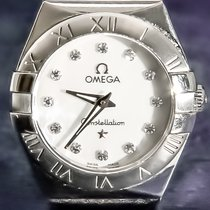 Omega Acél Kvarc 27mm Constellation Quartz 7c5ad7537d
