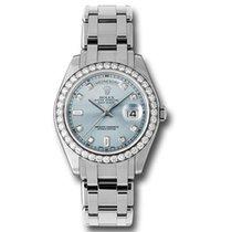Rolex Day-Date Platinum 39mm Blue