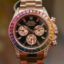 "Rolex Cosmograph Daytona ""Rainbow"" /18k rose gold"