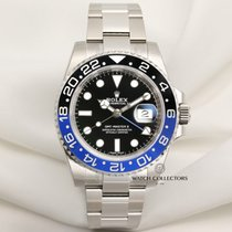 "Rolex Unworn Full-Set Rolex GMT-Master II ""Batman"" 116710BLNR..."