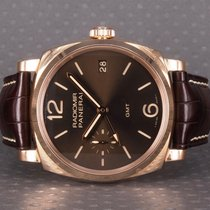 Panerai Red gold Manual winding Brown Arabic numerals 47mm pre-owned Special Editions