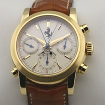 Girard Perregaux Ferrari Yellow gold 39mm Silver