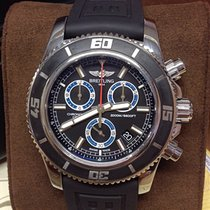 Breitling Superocean M2000 Chronograph Blue - Box & Papers 2015