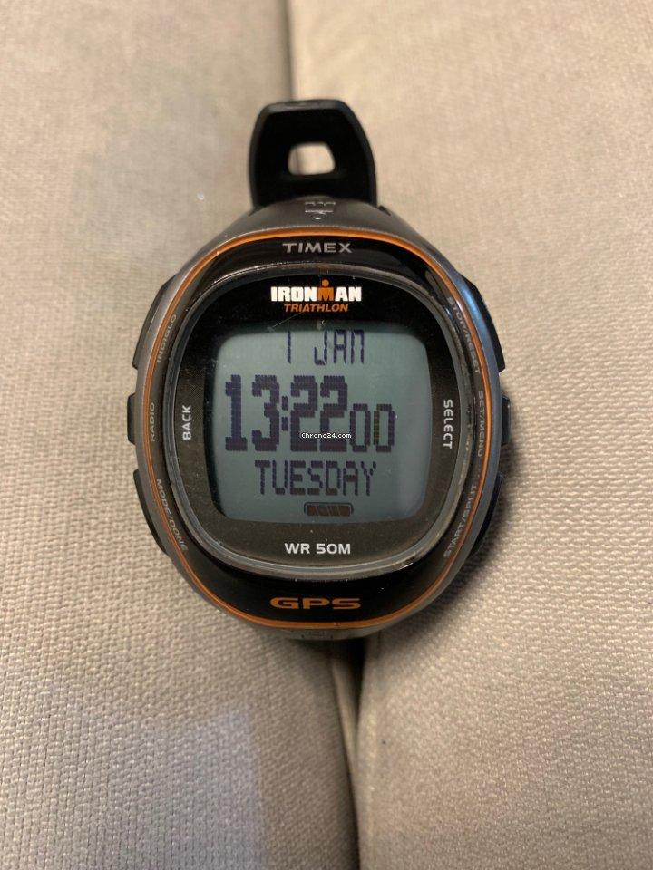 cc7c7337ef3e Timex Ironman Run Trainer GPS en venta por MX  220 por parte de un Vendedor  privado de Chrono24