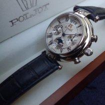 Poljot Chronograph 40mm Manual winding 2003 new Silver