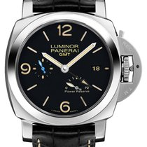 Panerai Luminor 1950 3 Days GMT Power Reserve Automatic new 2020 Automatic Watch with original box and original papers PAM01321