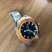 Omega 45.5mm Automatic 2014 pre-owned Seamaster Planet Ocean