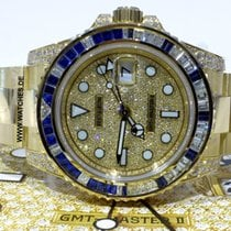 Rolex 116758SA Yellow gold GMT-Master II 40mm