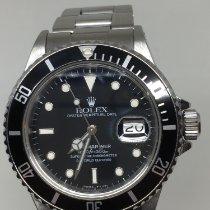 Rolex Submariner Date Acier 40mm Noir Sans chiffres France, rhone alpes
