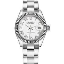 Rolex Lady-Datejust Steel 28mm White Roman numerals United Kingdom, London