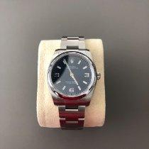 Rolex Air King neu 2019 Automatik Uhr mit Original-Box und Original-Papieren 114200