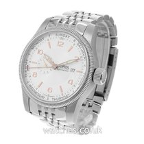 Oris Big Crown Small Second Pointer Day Steel 44mm Silver Arabic numerals