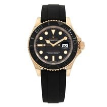 Rolex Yacht-Master 40 pre-owned 40mm Black Date Rubber