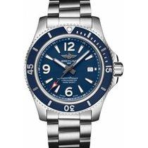Breitling Superocean II 44 Stahl 44mm Blau Arabisch