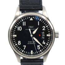 IWC Pilot Mark Steel 41mm Black Arabic numerals United States of America, New York, New York