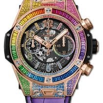 Hublot Big Bang Unico Oro rosado 45mm Transparente
