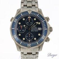Omega Seamaster Diver 300 M Titanio 42mm Azul
