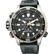 Citizen Promaster Marine Acciaio 46,5mm Nero Arabo