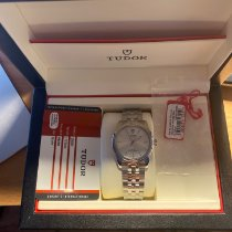 Tudor Glamour Date Steel 36mm Silver No numerals United States of America, New York, Long Island City