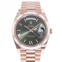 Rolex Day-Date 40 Rose gold 40mm Green United States of America, Georgia, Atlanta