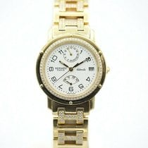 Hermès Yellow gold Automatic White Arabic numerals 36mm pre-owned