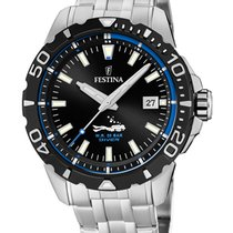 Festina Steel 44mm Quartz F20461/4 new