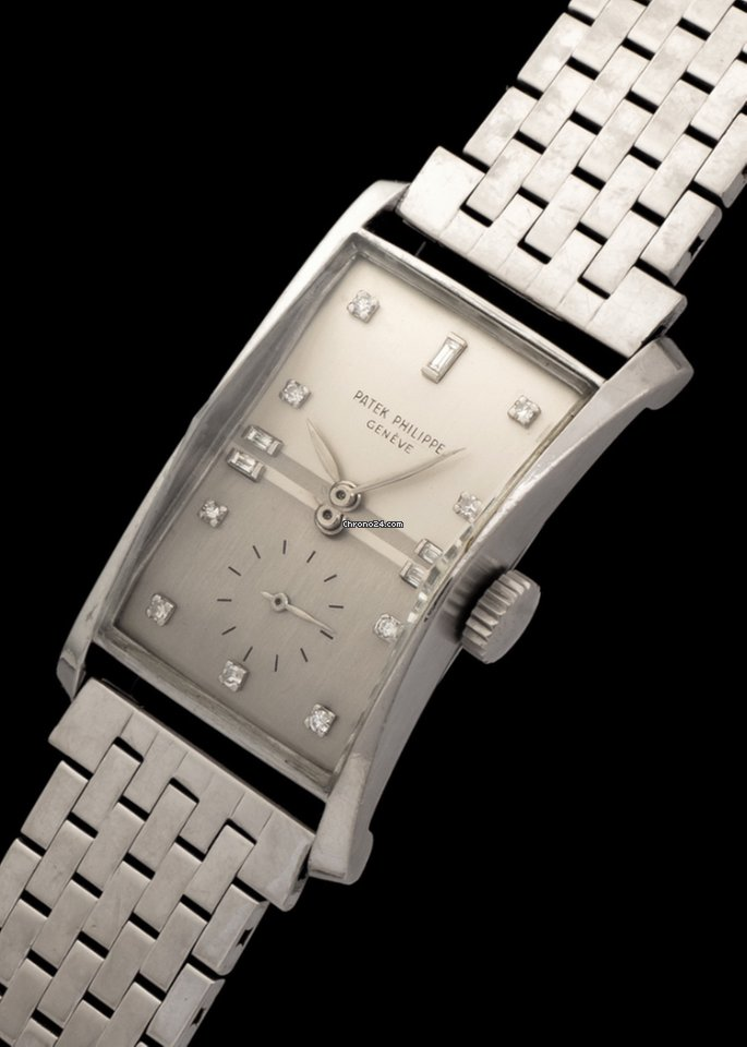 Patek Philippe Hour Glass 1593 1953 pre-owned