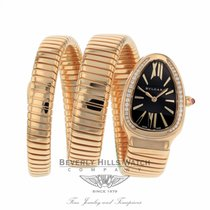 Bulgari Serpenti Rose gold 35mm Black United States of America, California, Beverly Hills