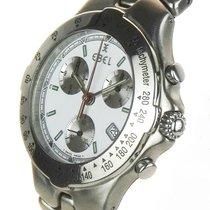 Ebel Chronograaf 42mm Quartz 2000 tweedehands Sportwave Wit