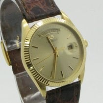 Lorenz Yellow gold 35,22mm Quartz 13583 pre-owned