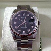 Rolex Datejust 36 mm Ref.116234 Schwarzes Diamanten ZB.