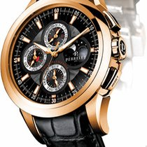 Perrelet new Automatic Rose gold Sapphire crystal