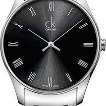 ck Calvin Klein Stahl 38mm Quarz K4D2114Y neu