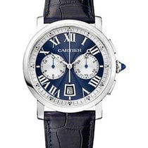 Cartier W1556239 Rotonde Mens 40mm Automatic in White Gold -...