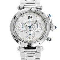 Cartier Pasha Seatimer Chronograph Mens Watch 38MM