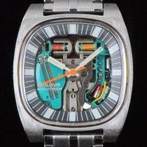Bulova Accutron  Spaceview Steel Quartz