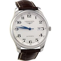Longines Master Collection L2.893.4.78.3 Longines MASTER Acciaio Argento Pelle 42mm new